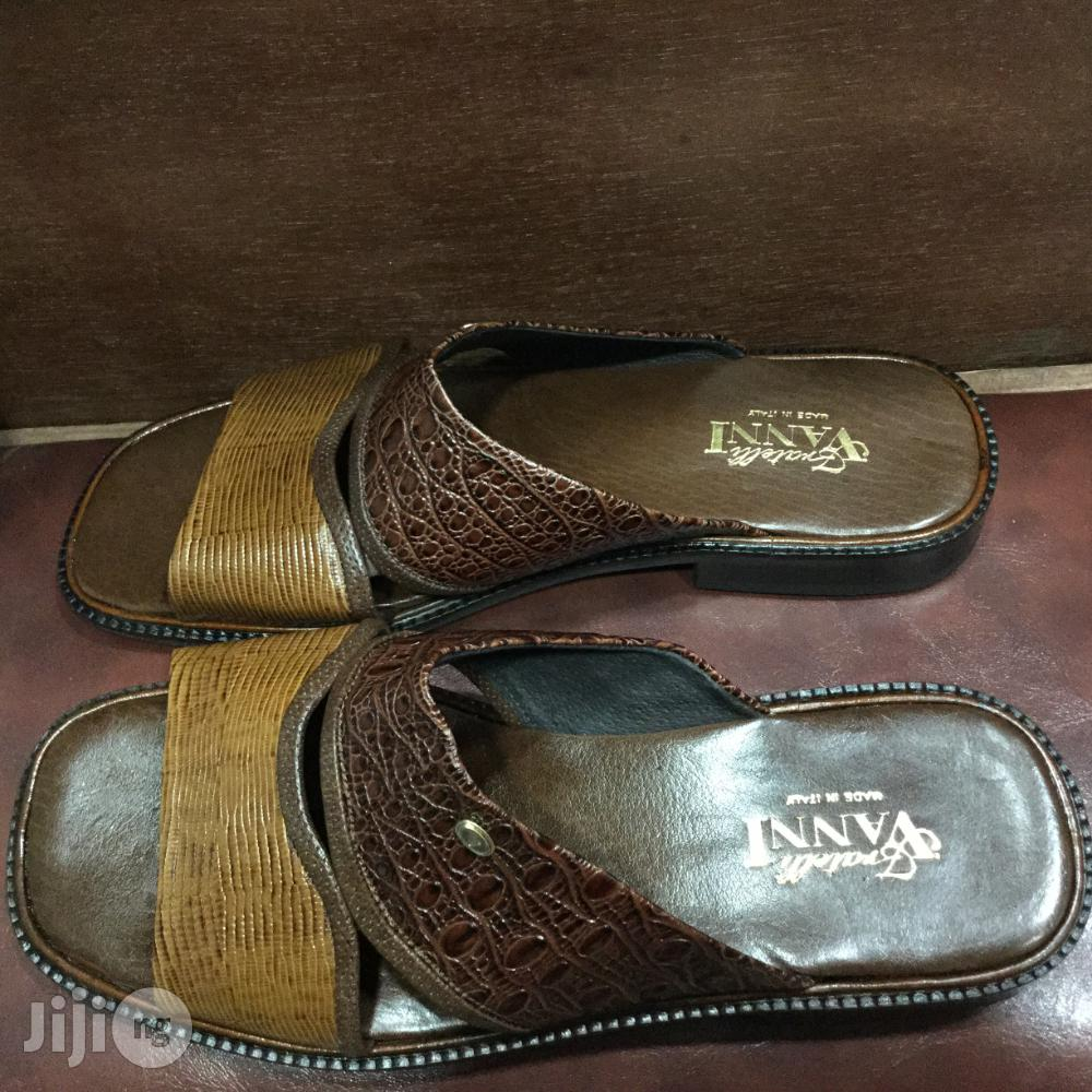 Men's VANNI Italian Leather Sandals