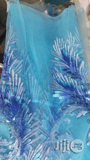 Original French Tulle 3d Net Lace Fabric | Clothing for sale in Lagos State