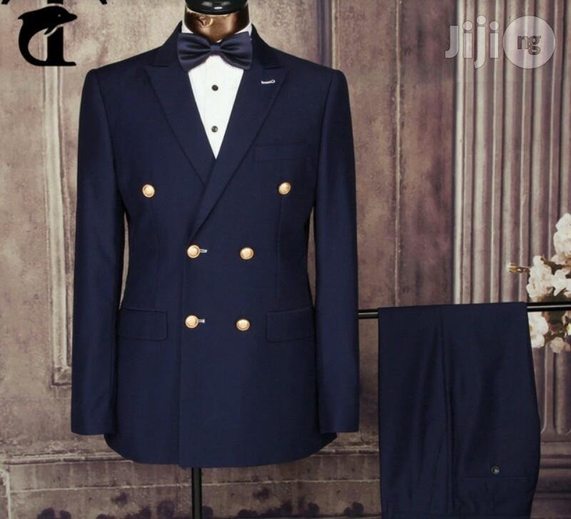 Double Breasted Suits For Men's Wedding Outfits