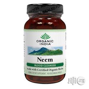 Organic India Neem Antibiotic Blood Purifier Ayurvedic Caps   Vitamins & Supplements for sale in Lagos State, Alimosho