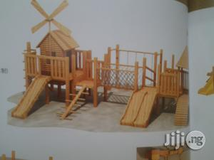 Wooden Playground House With Slides | Toys for sale in Lagos State, Ikeja