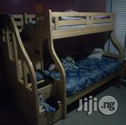 Thinly Used 2 Decker Children's Bed With 2 Mattresses | Children's Furniture for sale in Lagos State, Lekki Phase 2