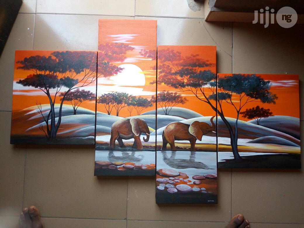 Archive: Hand Painted African and Sunset Scenes