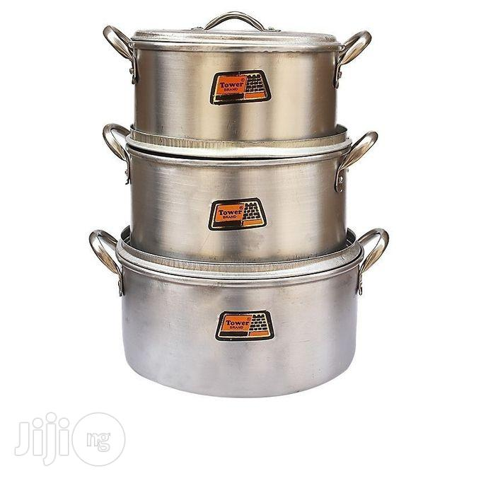 Set of Tower Cooking Pot by 3