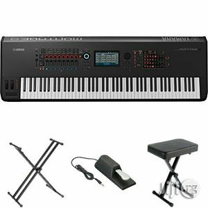 Yamaha Montage8 Synthesizer Workstation   Musical Instruments & Gear for sale in Lagos State, Ojo