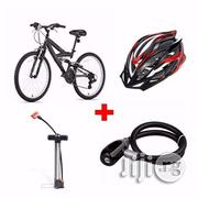 Adult Sports Bicycle + Helmet + Hand Pump + Steel Wire Rope Lock | Sports Equipment for sale in Lagos State