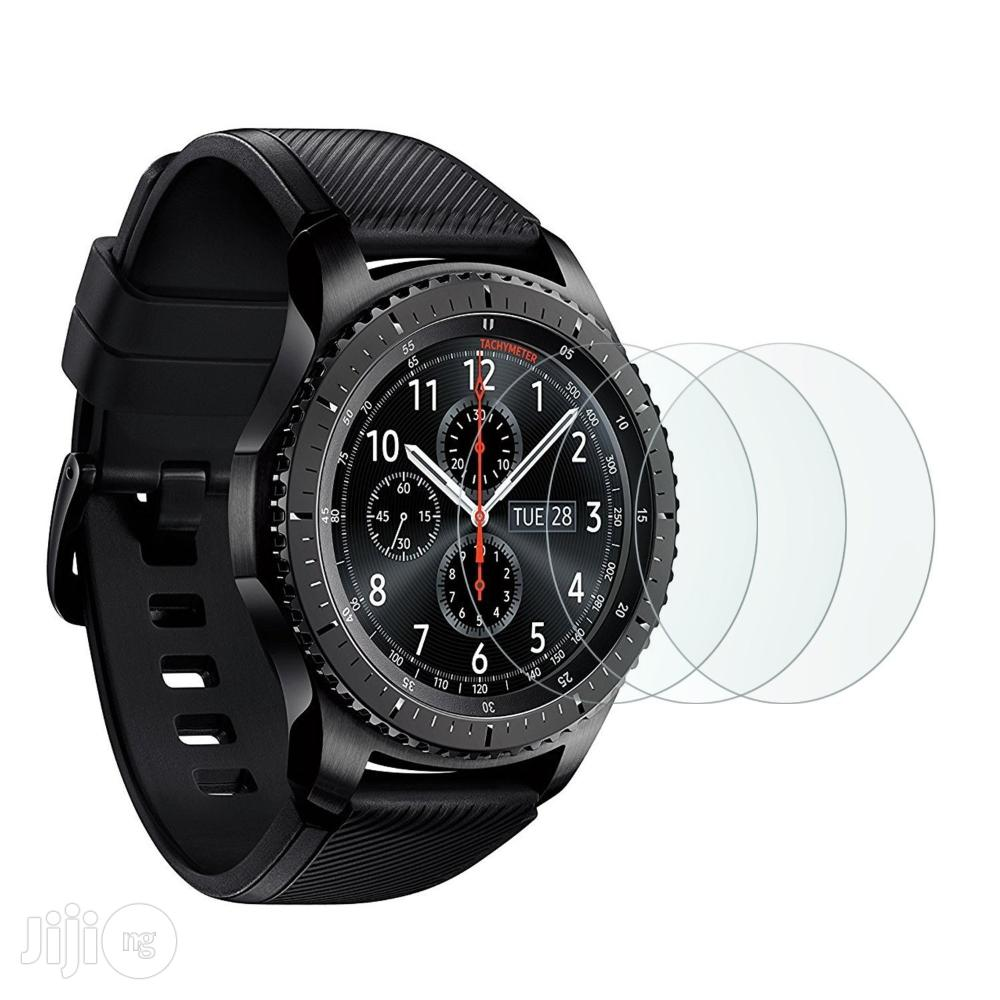 Samsung Gear S3 Classic / Frontier Screen Protector .   Smart Watches & Trackers for sale in Lagos State, Nigeria