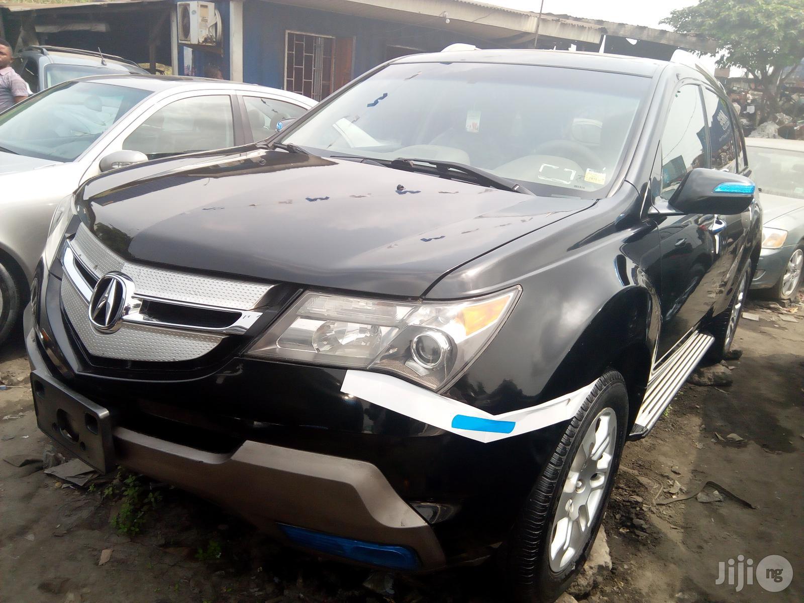 Acura MDX 2008 SUV 4dr AWD (3.7 6cyl 5A) Black