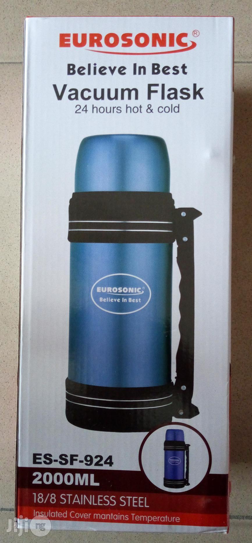 Eurosonic Blue Flask