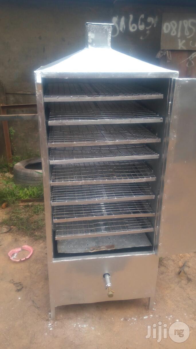 Fish Smoking Kiln Drying