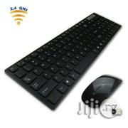 2.4G Optical Wireless Keyboard and Mouse | Computer Accessories  for sale in Lagos State
