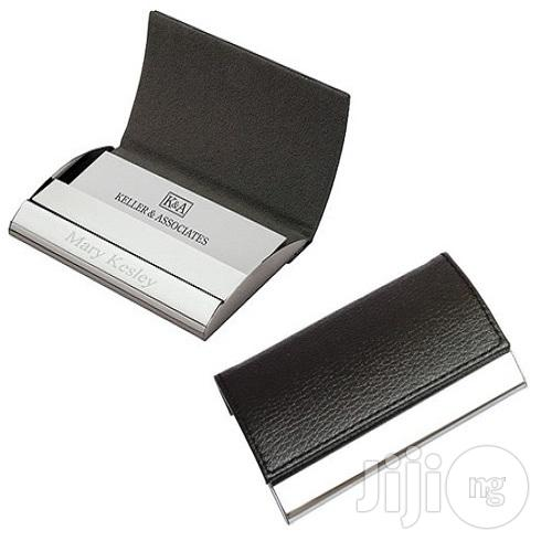 Archive: Leather and Metal Card Holder