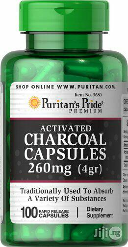 Activated Charcoal for Aiding Digestion and Absorbing Contaminants