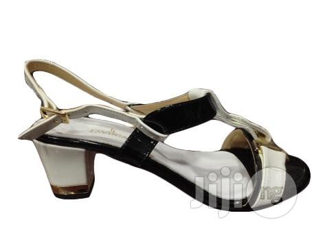 Leather Patent Italian Ladies Shoe Sandals   Shoes for sale in Surulere, Lagos State, Nigeria