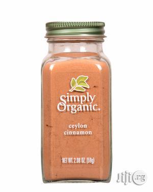 Simply Organic Ground Ceylon Cinnamon ( 59g)   Vitamins & Supplements for sale in Lagos State, Ikeja