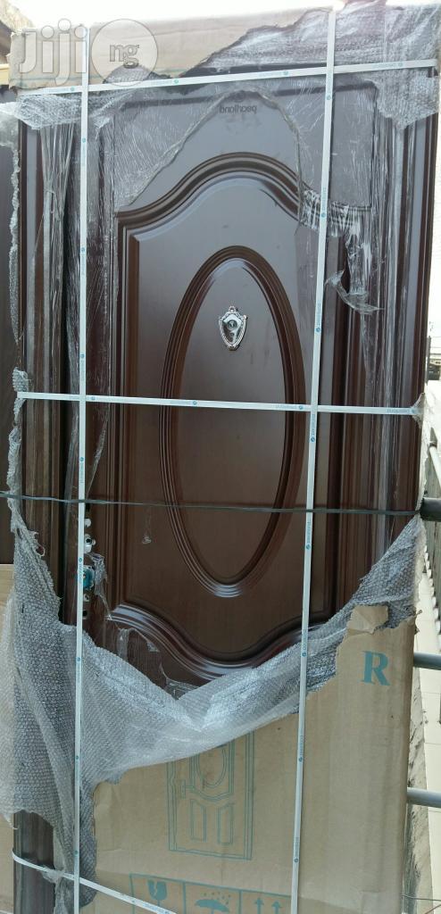 Toilet Steel Door