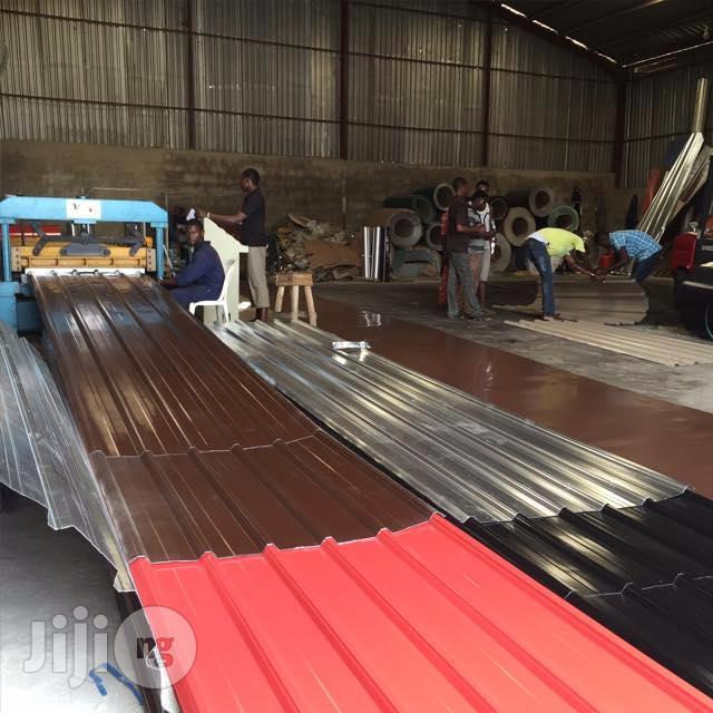 Aluminum Roofing Sheets Installation