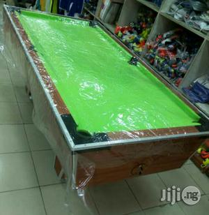 Locally Made Snooker Board With Foreign Material | Sports Equipment for sale in Lagos State, Ikeja