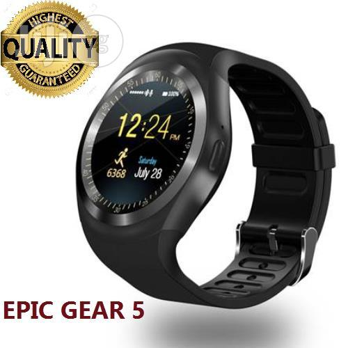 Epic Gear 5 Smart Watch Phone With SIM Card Slot Promo