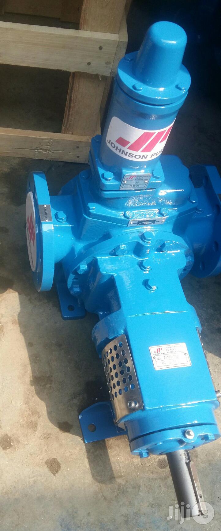 "3"" Johnson Internal Gear Transfer Pump"