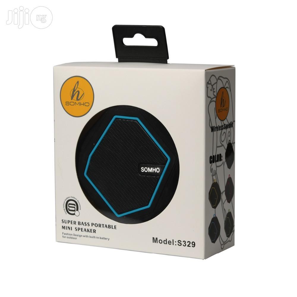 SOMHO 329 + 8 GB Micro SD Card A Set Multifunction Bluetooth Speaker