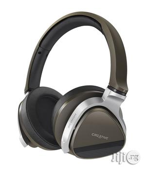 Creative Aurvana Gold Over The Ear Headphone With Mic | Headphones for sale in Lagos State