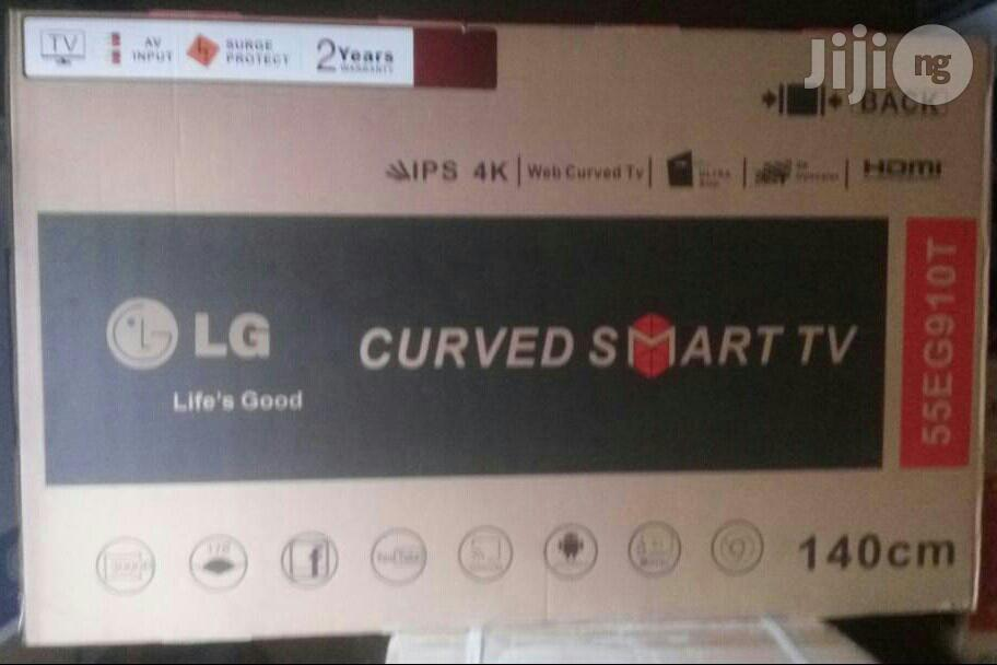Brand New Original Lg 55 Inches Smart Curve Led Tv Wit 2years Warranty