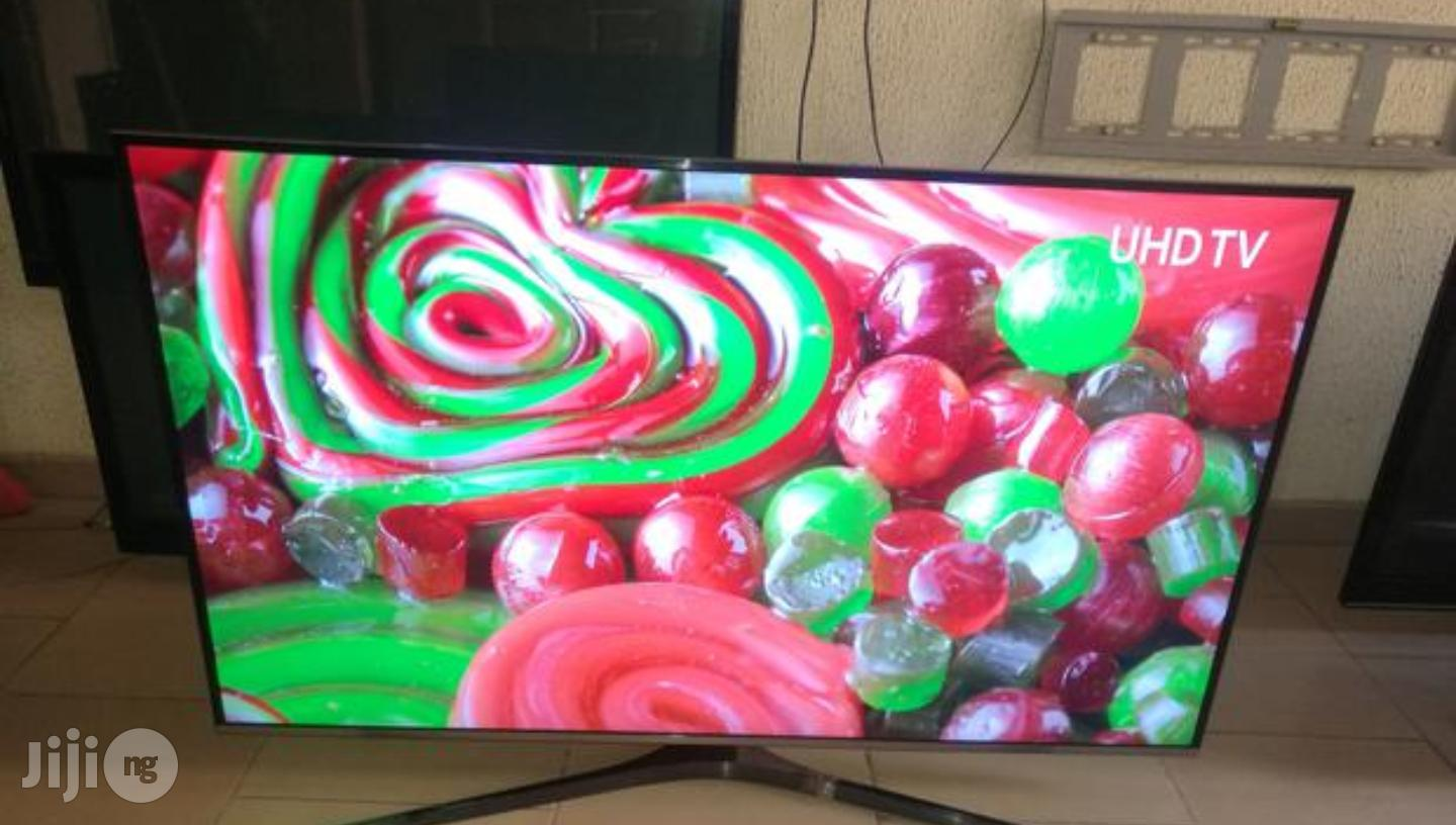Samsung Smart UHD 4K Led Tv 55 Inches   TV & DVD Equipment for sale in Ojo, Lagos State, Nigeria