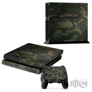 Camouflage Skin Sticker Set For PS4 Playstation 2 Console Controller | Accessories & Supplies for Electronics for sale in Lagos State, Ikeja