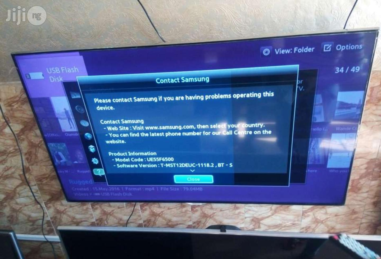 Samsung Smart Full HD 3D LED TV Ue55f6500 55 Inches