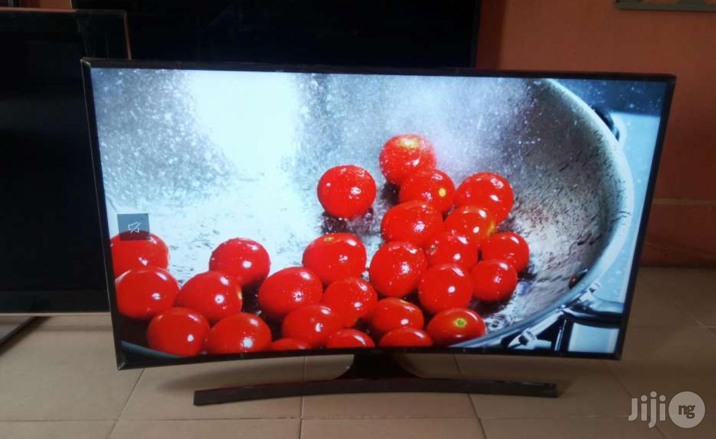 Samsung Smart Curved Uhd 4K LED TV 55 Inches   TV & DVD Equipment for sale in Ojo, Lagos State, Nigeria