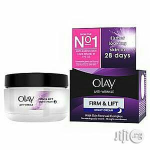 Olay Anti-Wrinkle Firm Lift Night Cream 50ml | Skin Care for sale in Abuja (FCT) State, Gwarinpa