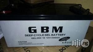 200ah 12volts GBM Battery   Solar Energy for sale in Lagos State, Ojo