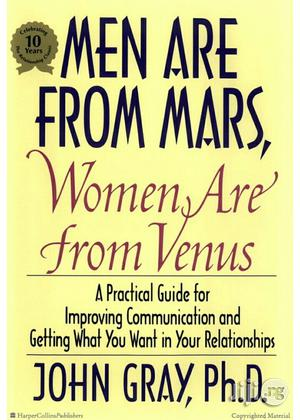 John Gray Men Are From Mars, Women Are From Venus | Books & Games for sale in Lagos State