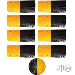 8m Rubber Traffic Speed Breaker Bump Hump With End Caps | Automotive Services for sale in Lagos State