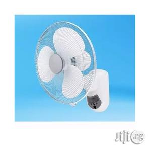 Lontor Rechargeable Wall Fan - 16 Inches | Home Appliances for sale in Lagos State, Ojo