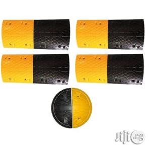 HIPHEN 4m Rubber Traffic Speed Breaker Bump Hump With End Caps | Automotive Services for sale in Lagos State