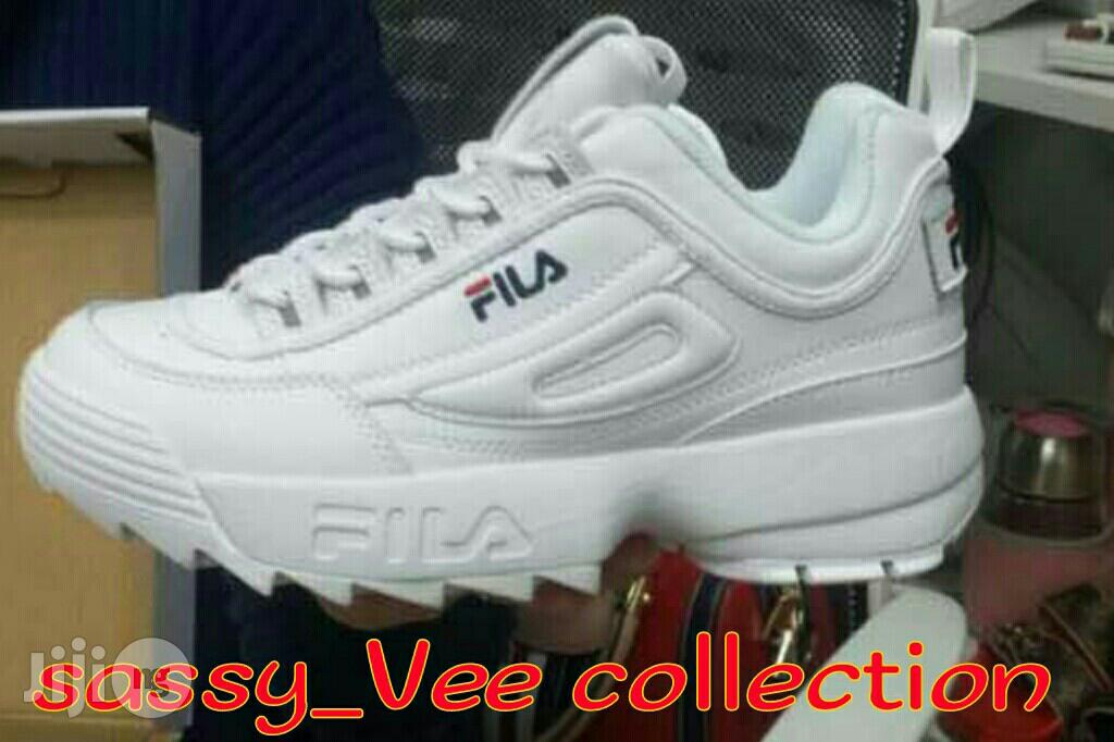 Fila White | Shoes for sale in Shomolu, Lagos State, Nigeria