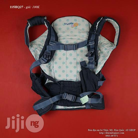 Tokunbo UK Used Denim Baby Carrier (Black)