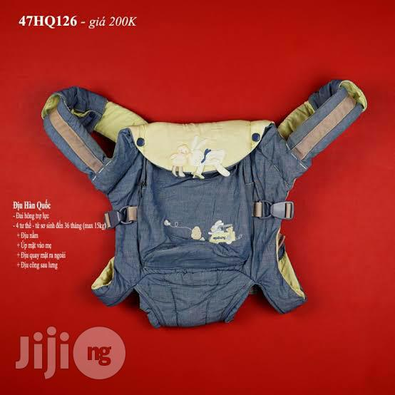 Tokunbo UK Used Denim Baby Carrier (Black)   Children's Gear & Safety for sale in Lagos State, Nigeria