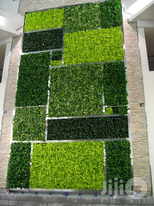 Selling Now Wall Creeping Synthetic Turf For Offices Outdoor Designs In Ikeja Garden Bethelmendels Nigeria Jiji Ng