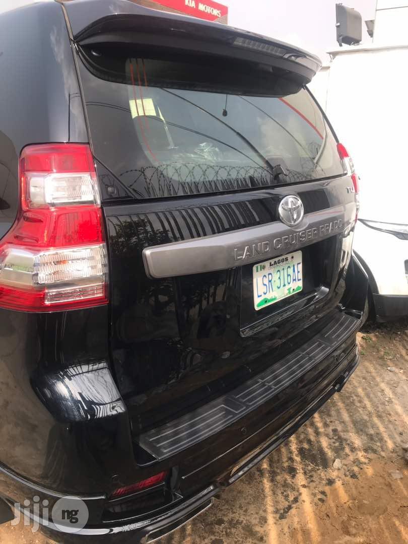 Toyota Land Cruiser Prado 2017 Black   Cars for sale in Surulere, Lagos State, Nigeria