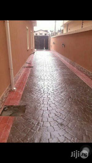 Polished Stamped Concrete Floor   Building & Trades Services for sale in Lagos State, Oshodi
