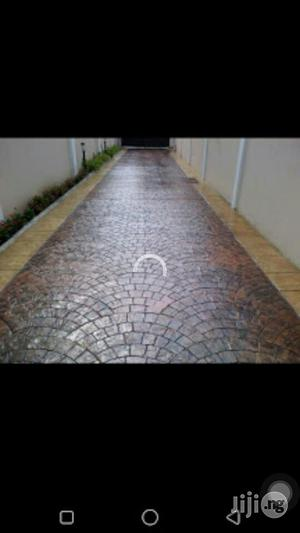 Solid Concrete Stamp Floor | Building & Trades Services for sale in Lagos State, Lekki