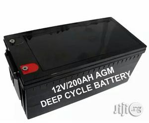 200ah 12v Deep Cycle Battery AGM   Solar Energy for sale in Lagos State, Ojo