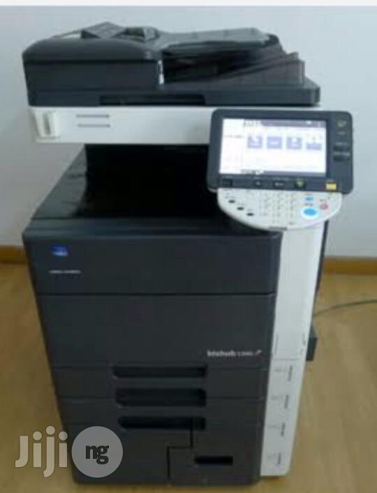 Archive: Konica Minolta Bizhub C550 Coloured Direct Image Printer/Copier