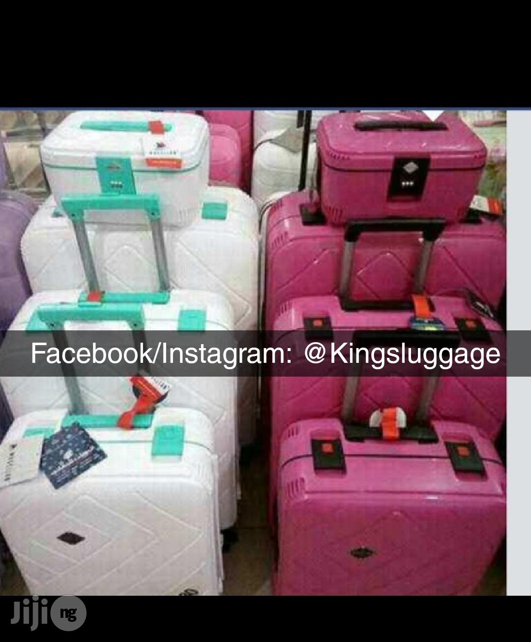 Plastic Bumper Luggage