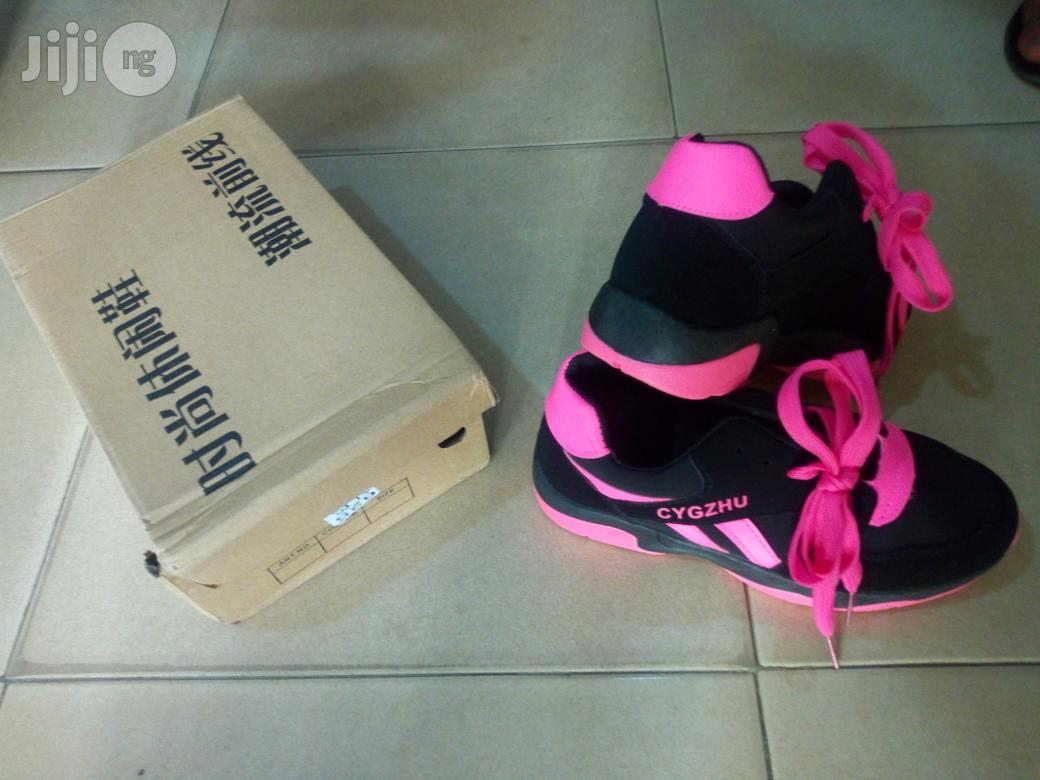 Ladies Jugging Canvas | Children's Shoes for sale in Ikeja, Lagos State, Nigeria