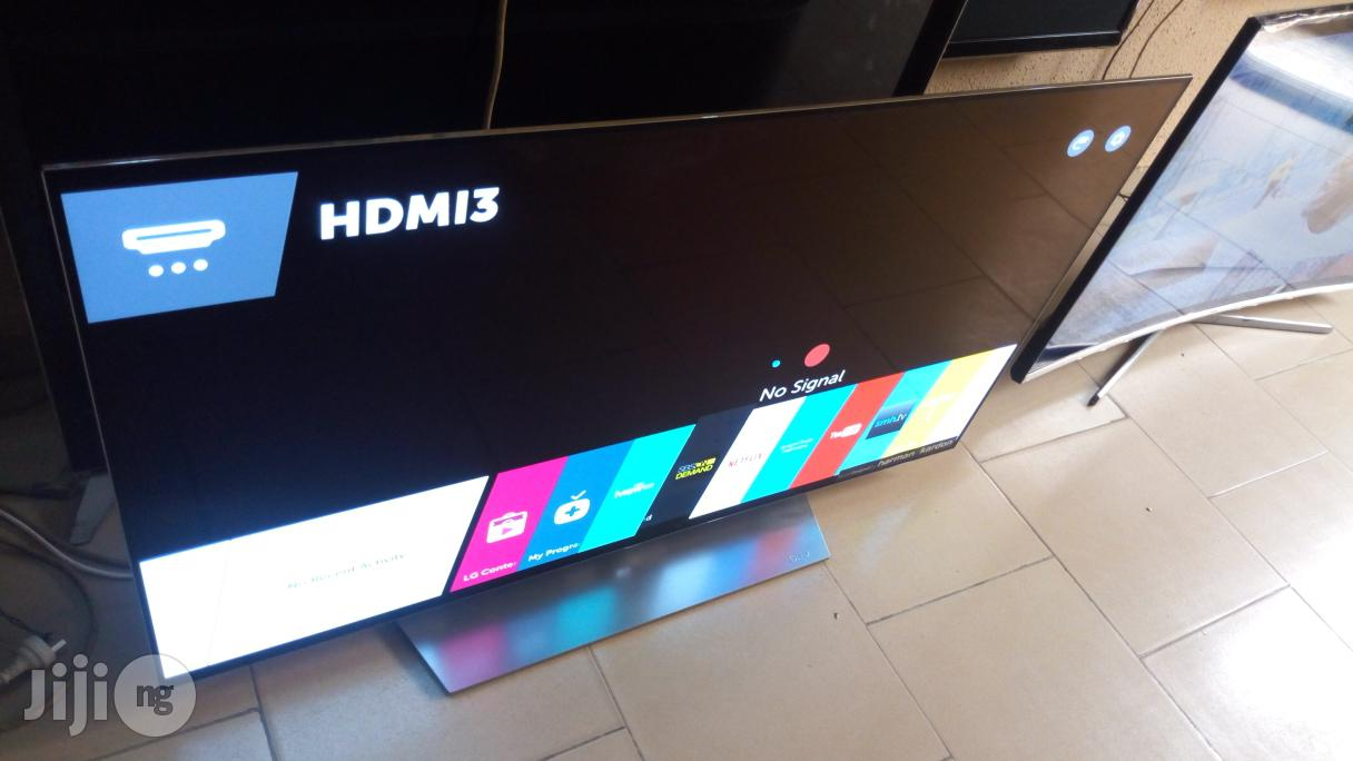 """Ultra Thin LG 55"""" OLED Smart 3D UHD 4K TV Powered By Webos 