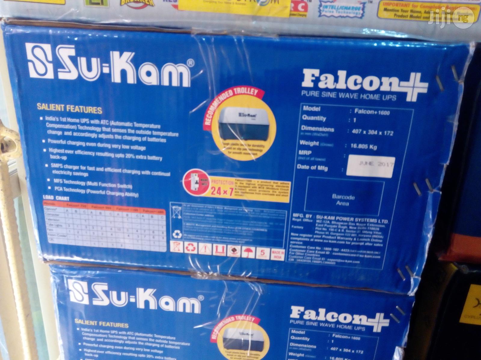 1.6KVA 24V Su-Kam Falcon Plus Solar Inverter | Solar Energy for sale in Ojo, Lagos State, Nigeria
